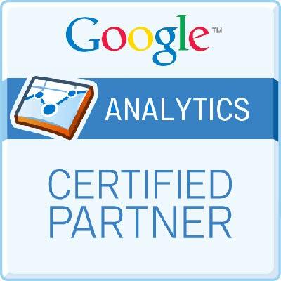Google Analytics Certified Partner logo