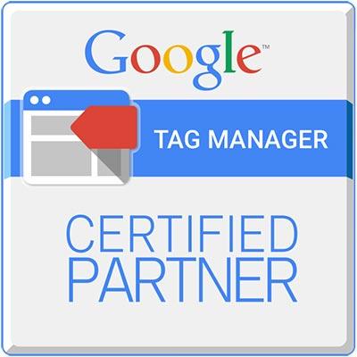 Google Tag Manager Certified Partner logo
